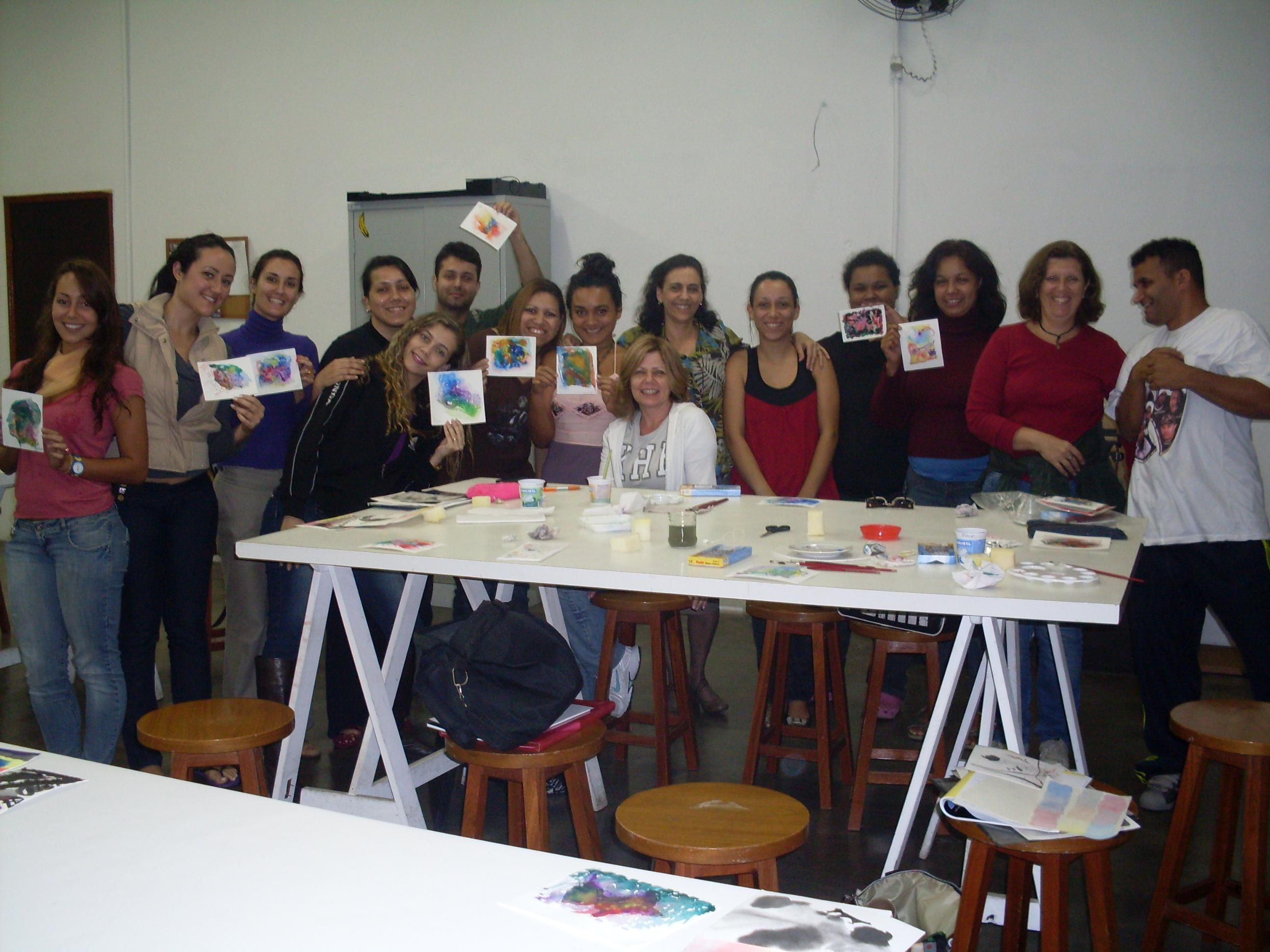 Oficina aquarela unisanta setembro 2010 for Horario oficina santa lucia